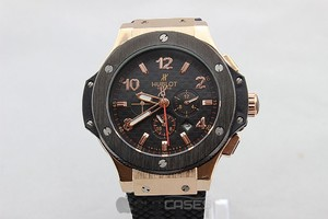 Часы мужские Hublot Big Bang Black Gold Glass